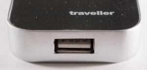 Powertraveller Powermonkey Discovery Powerbank Side USB